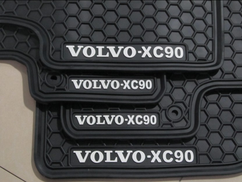 Thick Rubber Car Mats For Volvos40 S60 S80 Xc60 Xc90 Sports