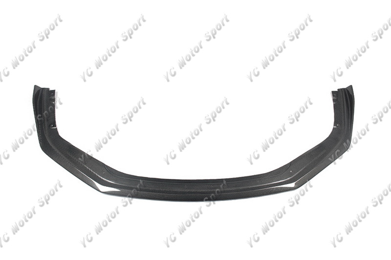 Carbon Fiber YC Design Style Front Lip Fit For 2016-2018 911 991.2 Carrera & S & 4 & 4S Front Bumper Lower Splitter Lip