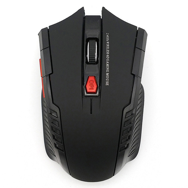 2000DPI 2.4GHz Wireless Optical Mouse Gamer for PC Gaming Laptops New Game Wireless Mice with USB Receiver Drop Shipping Mause 6