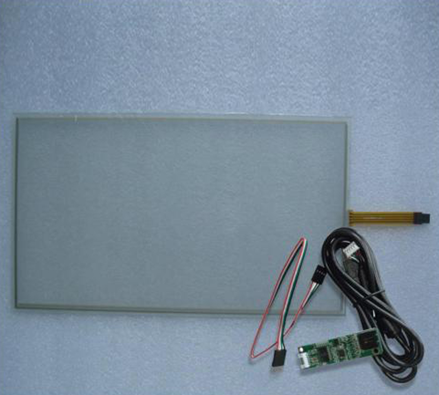 19 Inch 276x426mm 4Wire Resistive Touch Screen Panel USB kit for 19 monitor 17inch resistive touch screen panel 382 2x239 5mm 5wire usb driver board kit for 17 monitor