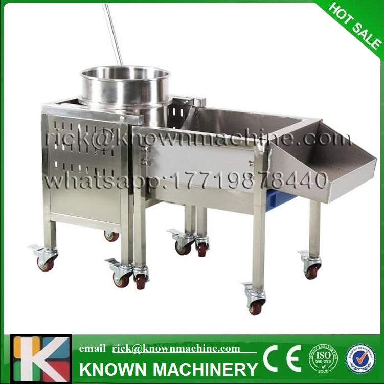 Hot Commercial hand operate stainless steel air/gas popcorn maker machine with different model free shipping by sea pop 06 economic popcorn maker commercial popcorn machine with cart
