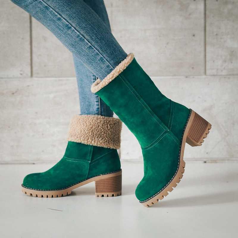 965cb41dd ... ASILETO mujeres botas de mujer Zapatos de invierno zapatos de piel de  mujer botas para la