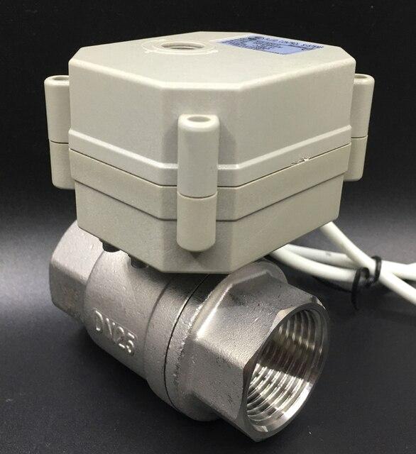真鍮/ステンレス鋼 1 比例弁 0 10 v 4 20mA 0 5 v 2 方法 DN25 電圧 DC12V DC24V 水変調制御