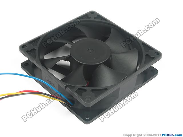 SUNON EF92251S1-Q04C-S9A Server Square Fan DC 12V 3.96W 90x90x25mm 4-wire