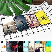 M402 Bicycle Black Soft TPU Silicone Case Cover For Apple iPhone 11 Pro XR XS Max X 8 7 6 6S Plus 5 5S 5G SE