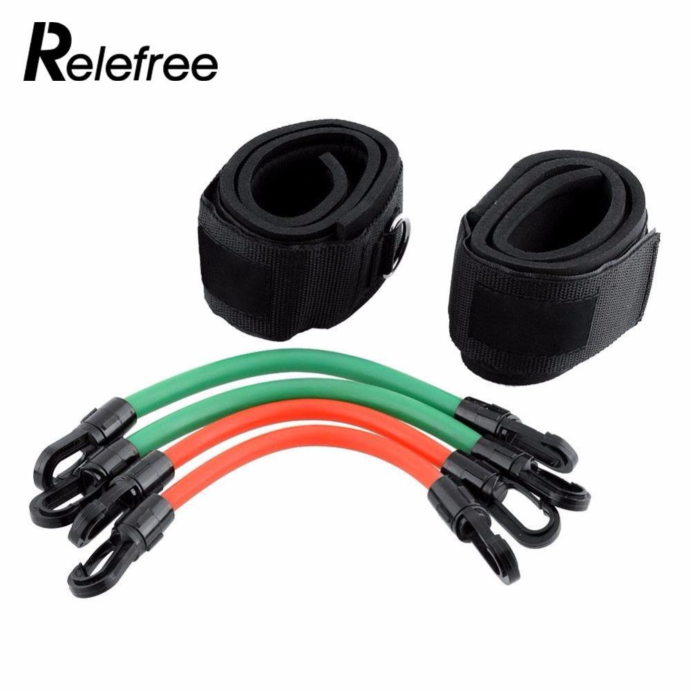 Relefree тренировки ноги Фитнес прочность сопротивление кинетическая полосы трубки для М ...