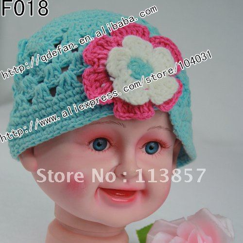 Free Shipping 100lot 100 Cotton Crochet Hat Patterns For Girls
