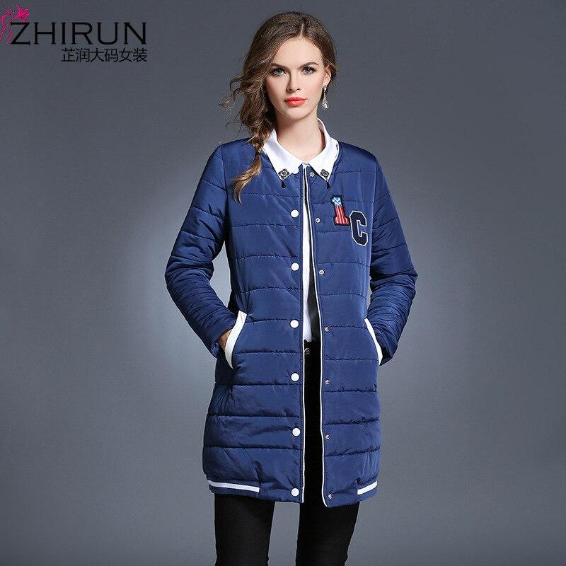 Plus Größe L-5xl Frau Parkas Neue Style Fashion Casual Dress Dame Tops Wadded herbst wintermantel frauen daunenjacke