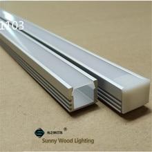 40 m/lote, 20 piezas de 2m ,80 Perfil de aluminio led inch/pc para tira de 8 11mm, canal led para cinta 5050,5630,3528, pista de luz de barra led