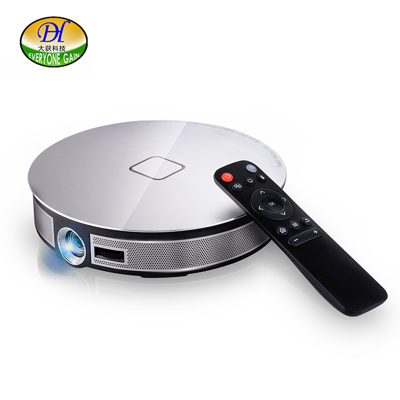 Everyone Gain A8S 3D Projector 1080P Video Full HD DLP Pico Projetor 12000mAh Projetor Android 6.0 WiFi BT 4k Video Projector everyone gain a18 projetor celular full hd 3d mini video proyector android projector dlp pico battery projecteur game portatil