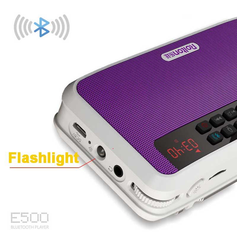Radio latarka głośnik Health