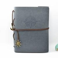 Leather Vintage Handmade DIY Photo Album Kraft Scrapbooking Book Couples Creative Gift