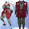 Jiraiya Cosplay Costume From Naruto Shippuuden Anime