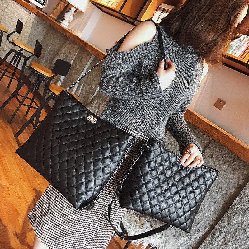 Luxury Handbags Women Bags Designer 2018 Vintage Messenger Bag Leather Chain Crossbody Bags For Women Channels bolsa feminina