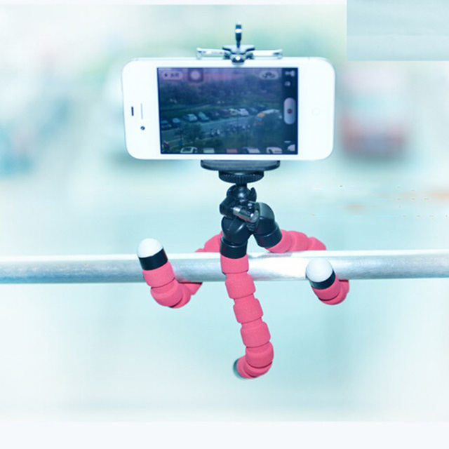 New mini Flexible Octopus tripod camera phone tripod stand   360 degree roating head universal for digital camera phone gopro