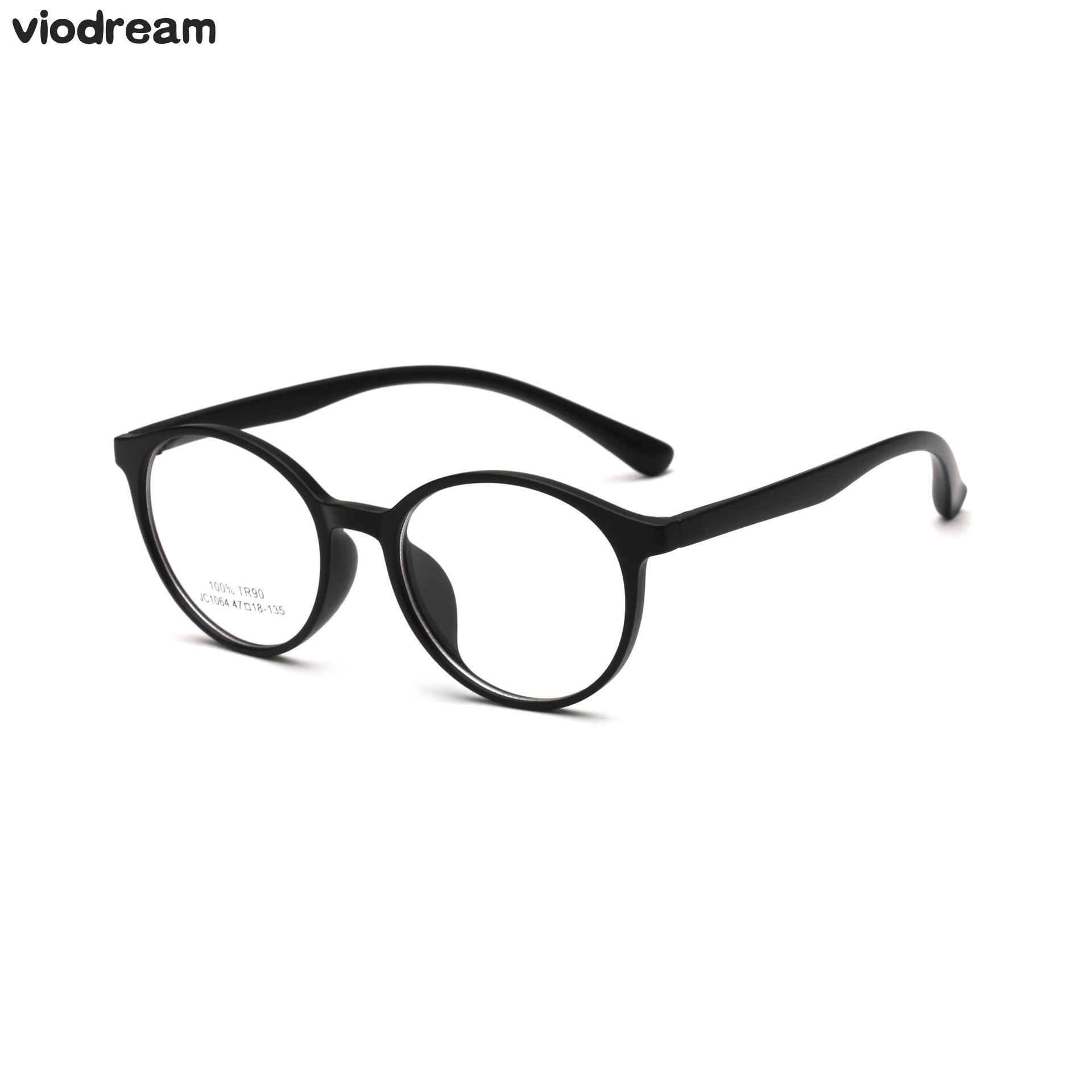 63844e45ee Aliexpress.com   Buy Viodream Retro Tr90 Big Box Round Glasses Frame 10 14  Years old boy girl Prescription Eyewear Spectacle Frame Oculos De Grau from  ...