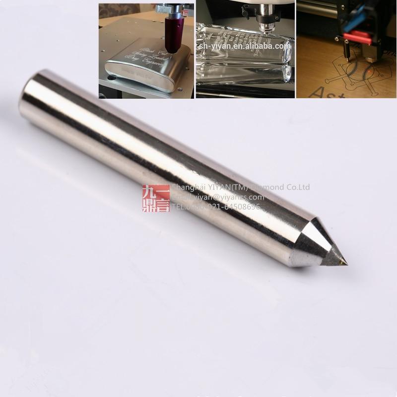10db / tétel 6 mm átmérőjű 50 mm hosszú 120 fokos gravírozó - Elektromos szerszám kiegészítők - Fénykép 2