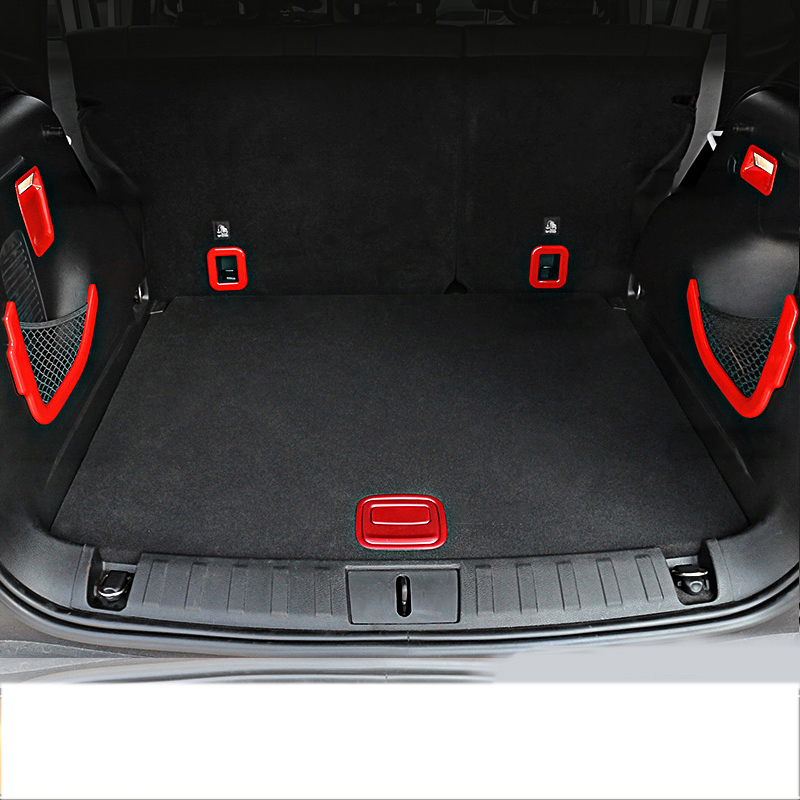 Lsrtw2017 Abs Car Trunk Left Right Vent Light Frame Trims for Jeep Renegade