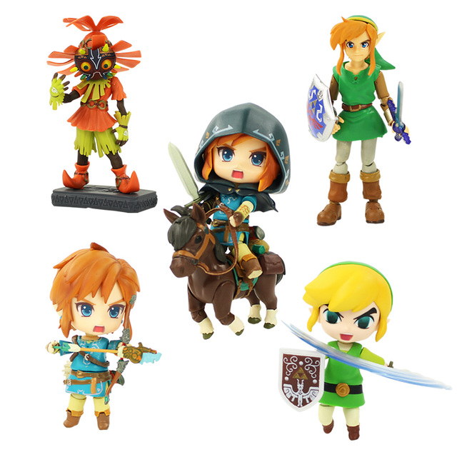 La leyenda de la figura de Zelda Toy Figma 284 Link Nendoroid 413 ...