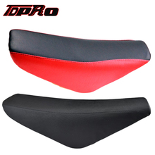 CRF50 XR50 Tall Flat Seat for 70/110/125/140cc Thumpster Dirt Pit Trail Bike RED
