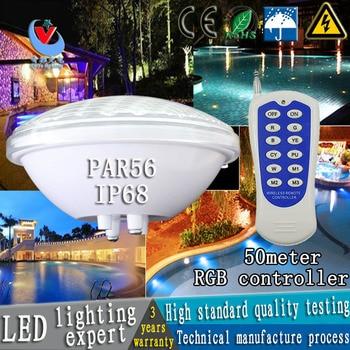 12 v par56 LED piscina luce 24 w 36 w AC/DC subacquea luci fontana dello stagno esterno impermeabile bianco/bianco caldo/rgb lig