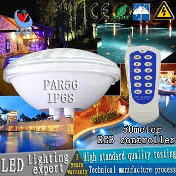 12 v par56 LED piscina luce 24 w 36 w AC/DC subacquea luci fontana dello stagno impermeabile esterno bianco/bianco caldo/rgb lig