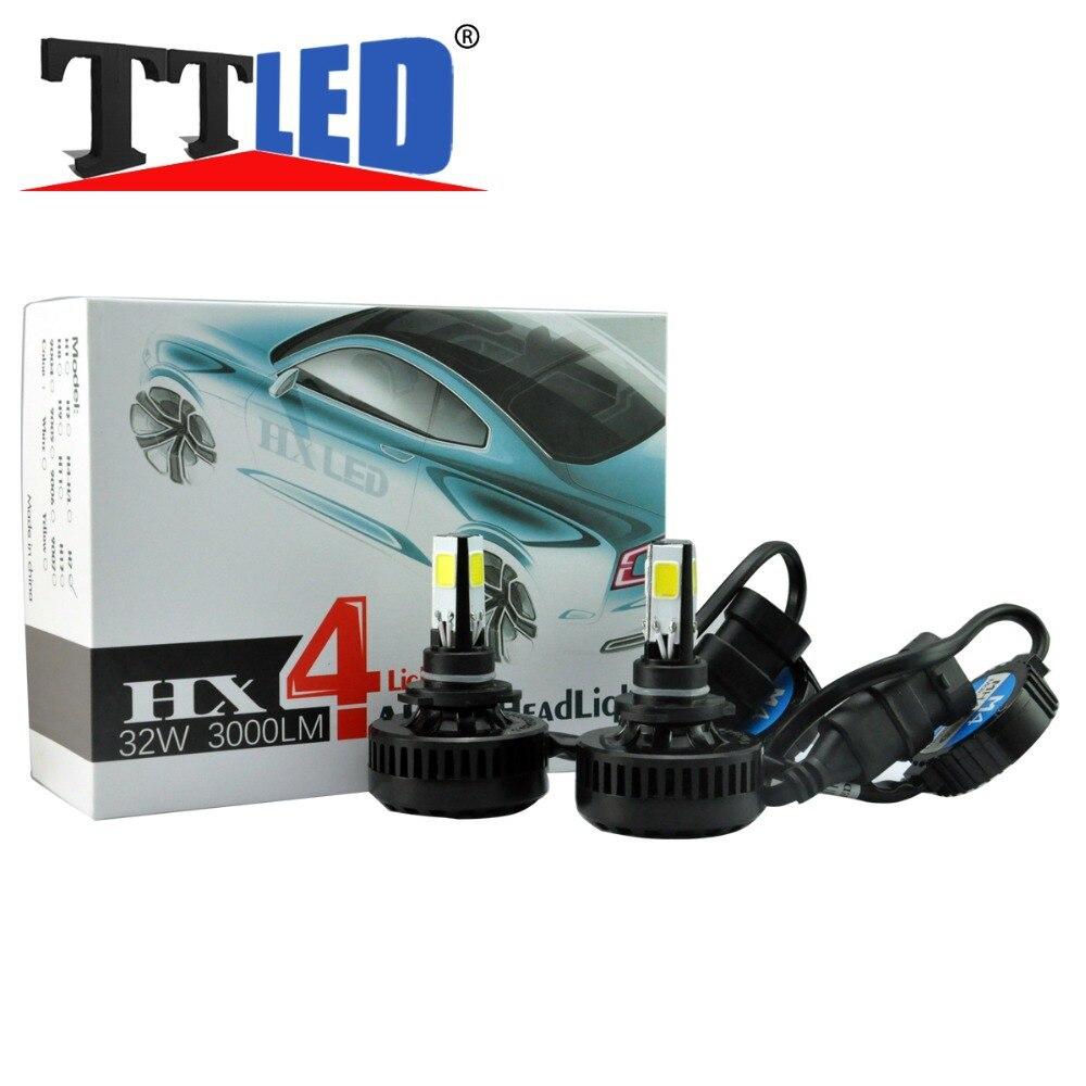 ФОТО 1set H11 H11B 32W 3000LM Headlight Bulb Low Beam for CHEVROLET Silverado 1500 2500 3500 HD(2.2) 07 08 09 10 11 12 13 14 15 #LN37