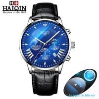 HAIQIN мужские часы, мужские часы, Топ бренд, Роскошные мужские часы, спортивные наручные часы, мужские сапфировые часы, Relogio Masculino 2019