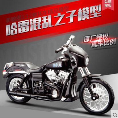 Nuevos Hijos de La Anarquía maisto 1:12 Harley-davidson har ley Original de simulación de aleación modelo de motocicleta de juguete niños 2003 DYNA SUPER GLIDE SPORT
