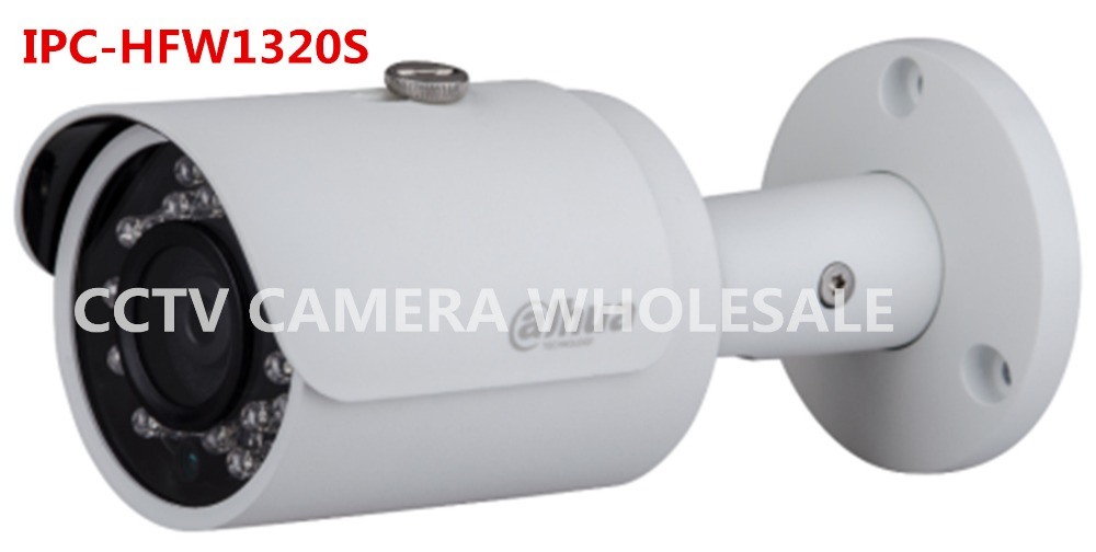 ФОТО English version Dahua Outdoor 3MP bullet HD IP security camera IPC-HFW1320S replace IPC-HFW4300S IPC-HFW1320S