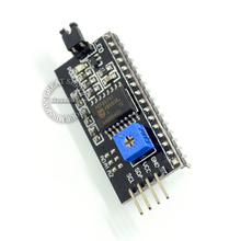 Adjustable Backlight of Interface Module IICI2CTWISPI Serial Board Module Port for Arduino 1602 LCD Display FZ0519