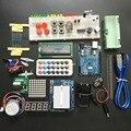 Starter Kit frete grátis/Step Motor/Servo/1602 LCD/Tábua de Pão/jumper/UNO R3 para arduino