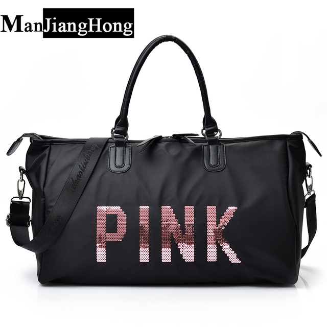 1f598251fe34 New Women travel Bags Ladies Nylon handbag Lady Shoulder Bag Big Capacity  Weekend Girls Shopping Bags