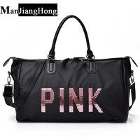 New Women Travel Bags Ladies Nylon Handbag Lady Shoulder Bag Big Capacity Weekend Girls Shopping Bags
