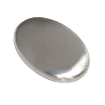 Stainless Steel Soap Oval Shape Deodorize Smell From Hands Retail Magic Eliminating Odor Kitchen Bar Chef Soap DropShip