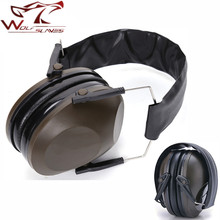 Chasse Tactique Casque Antibruit Casque Anti Bruit D'impact D'oreille De Tir Protecteurs Protection Auditive Casque(China)