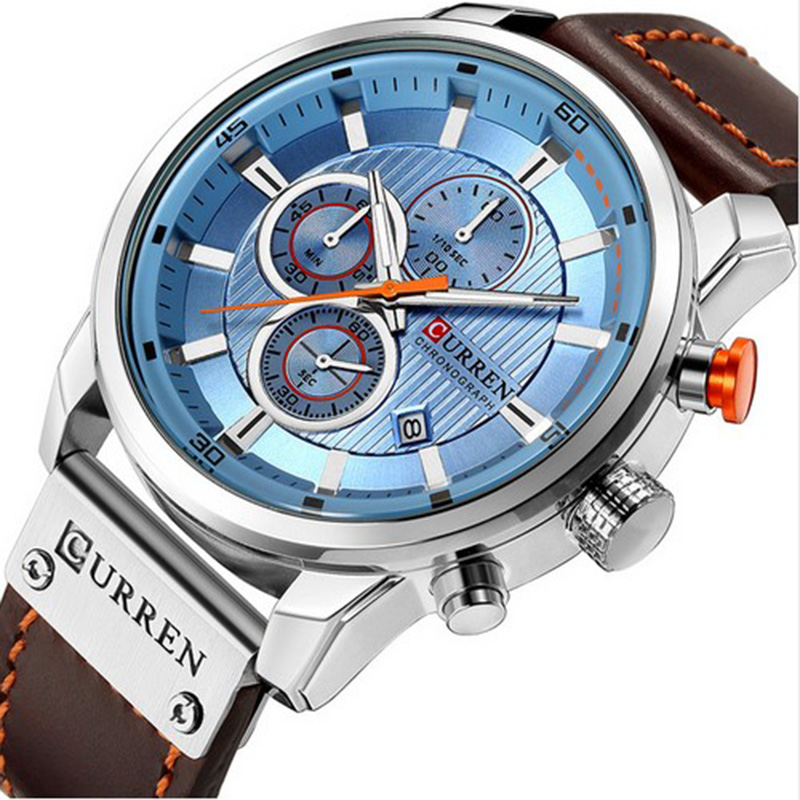 Watch Top Brand Man Watches with Chronograph Sport Waterproof Clock Man Watches Military Luxury Men's Watch Analog Quartz