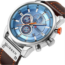 Watch Top Brand Man Watches with Chronograph Sport Waterproof Clock Military Luxury Mens Analog Quartz