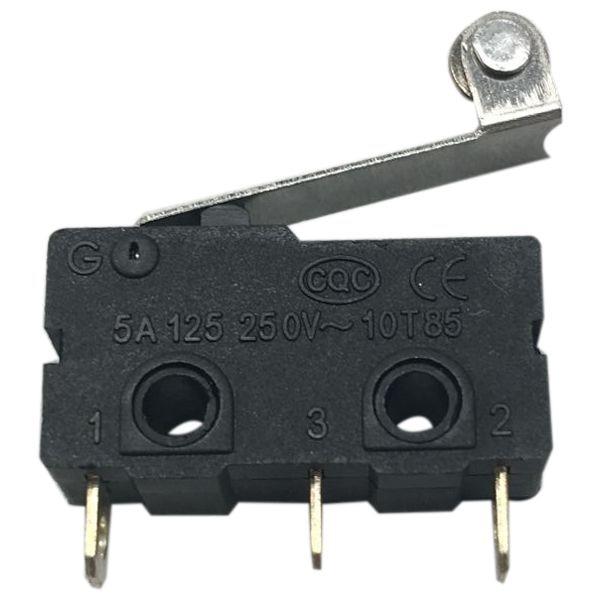 цена на 20PCS AC 125/250V 5A Roller Lever SPDT Mini Limit Switch Microswitch