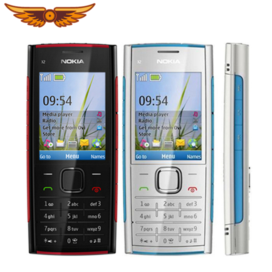 X2 Original Unlocked Nokia X2-00 Bluetooth FM JAVA 5MP Mobile Phone Hot selling in Poland Free shipping(China)