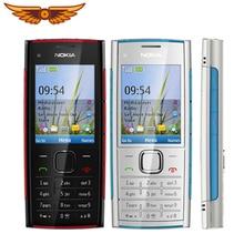 X2 Nokia X2-00 Bluetooth FM JAVA 5MP разблокированный мобильный телефон Горячая в Польшу