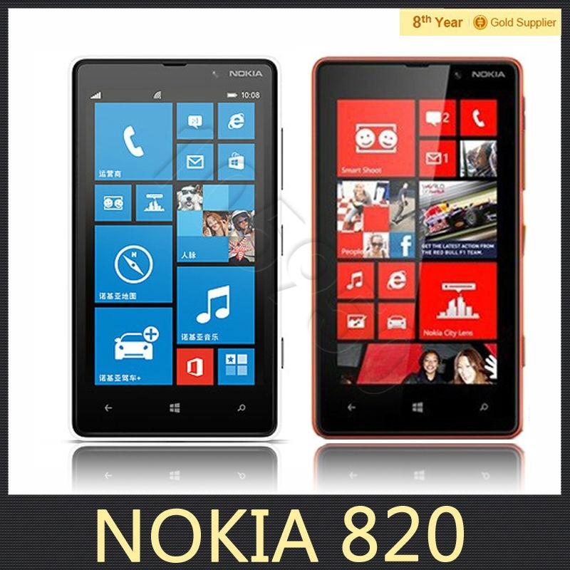 Original Nokia Lumia 820 Unlocked Mobile Phone Microsoft ...