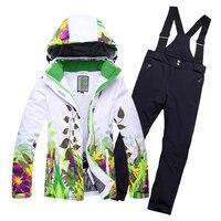 Обирали для маленьких мальчиков зимний комбинезон детские зимние лыжные костюмы для девочек открытый Водонепроницаемый ветрозащитный зим