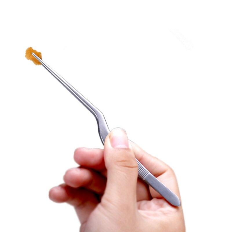 Elbow Tweezers Anti static Hand Tool Clear Clip 14cm 30cm Stainless Steel Maintenance Repair Tool Kit Craft Tweezers in Industrial Tweezers from Tools