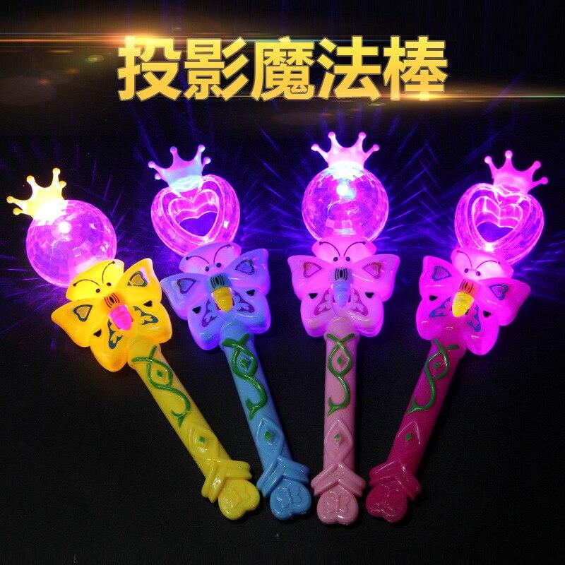 New Fairy Light Magic Wand All Stars Light Wand Angel Light Wand Children's Toys Novelty Gag Toys Luminous Toys