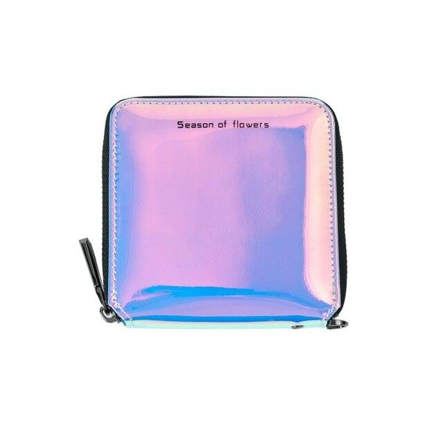 7aeb7adb2a17 2018 Women Wallets Geometry Luminous Clutch Female Zipper Phone Bag High  Capacity Women Coin Purse Holders
