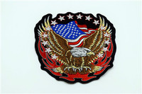 LC006 1 Pc 3D U S Army Flag Military Embroidered Badge Patch Military Iron On Embroidered
