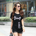 Plus Size XL-4XL Women Summer Short Sleeve Tops Tees 2017 New Arrival Clothing Female Casual O-neck T-shirt