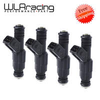 Free Shipping 4 or 5 or 6 pcs/lot GT650 650CC Fuel Injector High Flow Rate high performance for racing cars GT650 Type(Long)