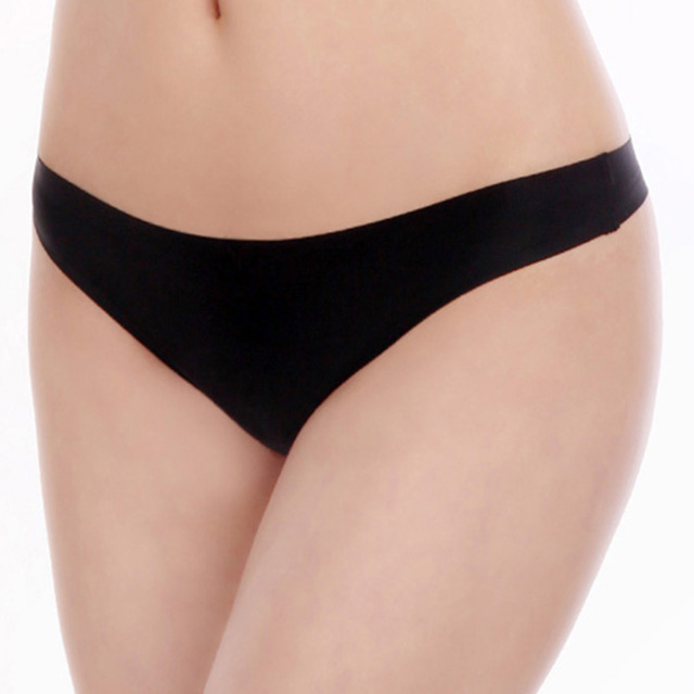 c7781a29be4b 2016 ultra thin seamless thong plain cheeky panties low waist T-back hot  women g-string sexy invisable lady boyleg hot underwear